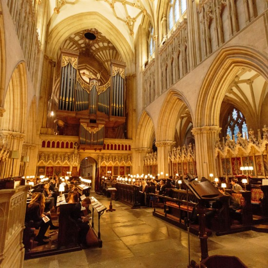 Millfield Choral Evensong at Wells Cathedral