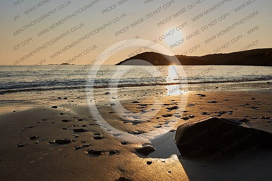 Whitesands Beach Pembrokeshire Wales Uk