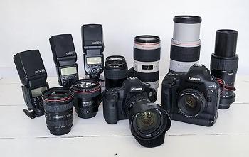 Camera equipment at my disposal