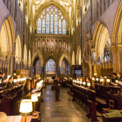 Choir at Wells Cathedral