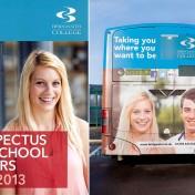 Bridgwater College prospectus photography