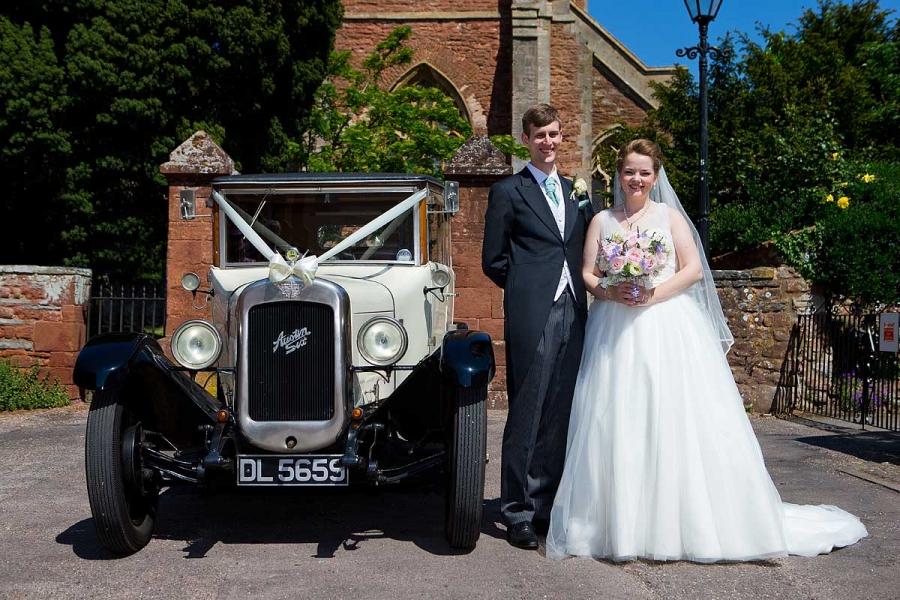 Cannington church wedding at St Mary