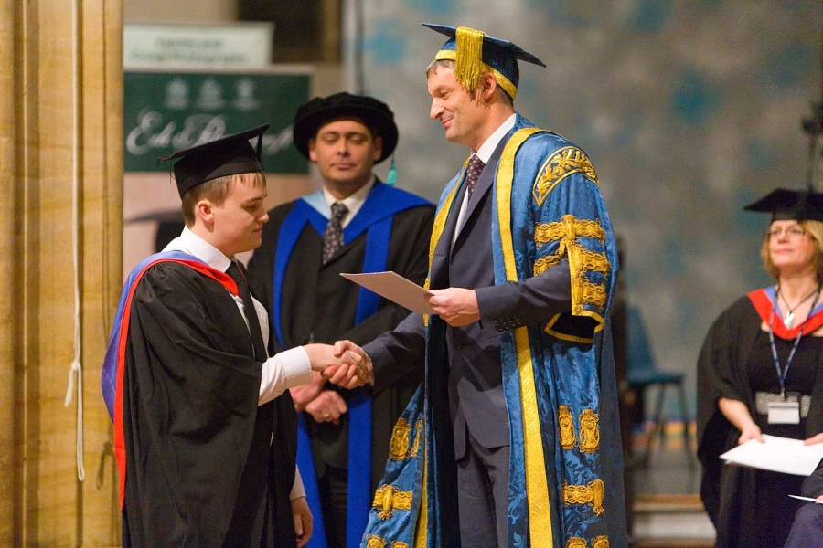 Awards ceremony photography for Bridgwater College