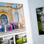 Inside Queensberry wedding album