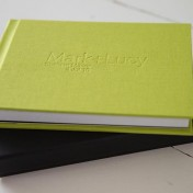 Modern hand made wedding album