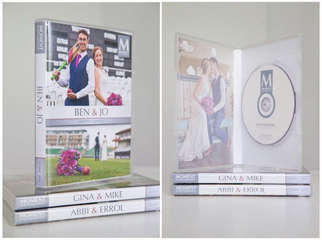 Wedding photography products - Uniqe DVD photo case