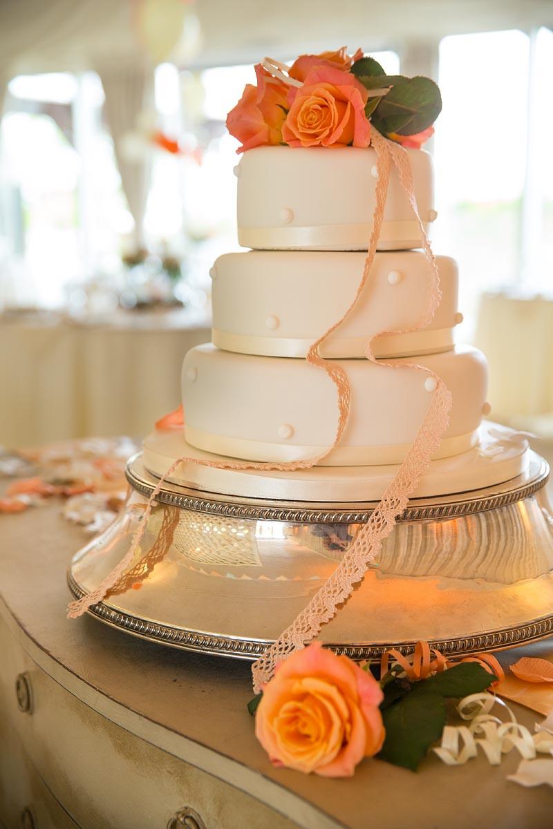 Taunton castle wedding cakes