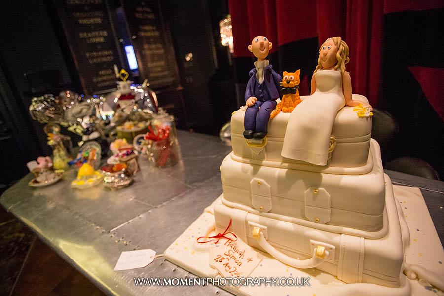 Wedding cake at Glazebrook House
