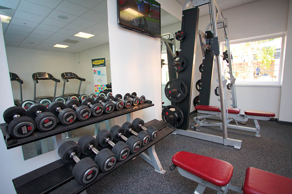 1610 Gym photography at Preston School in Yeovil