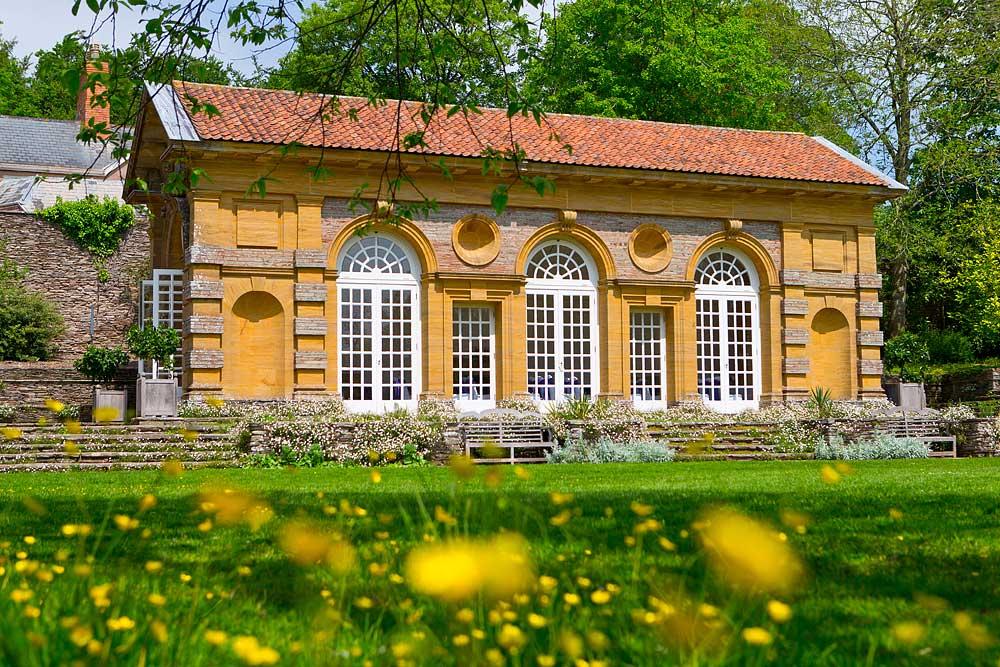 The Orangery at Hestercombe Gardens in Taunton