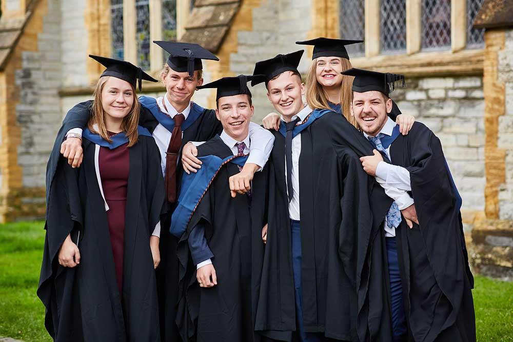 Graduation photography for Bridgwater & Taunton College