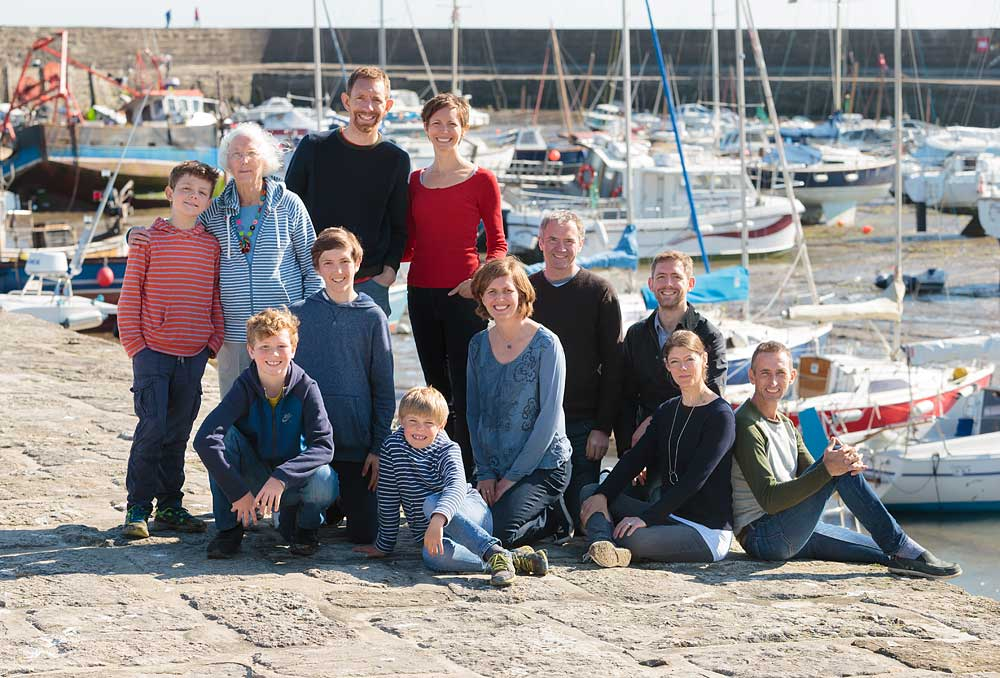 Lyme Regis family photo shoot