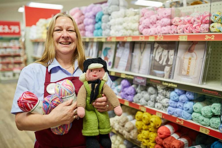 Hobbycraft staff photography in Yeovil