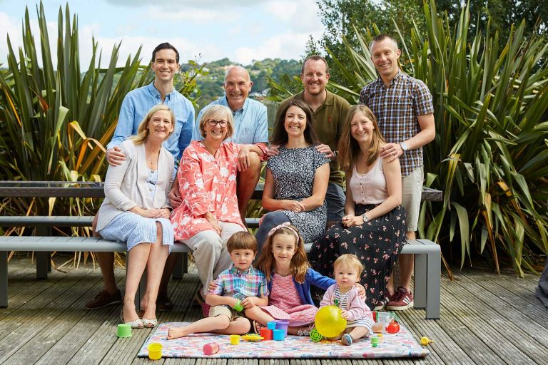 Relaxed family photography at Lyme Regis 2