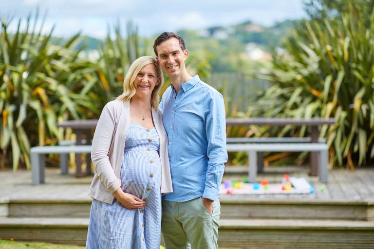 Relaxed family photography at Lyme Regis 3