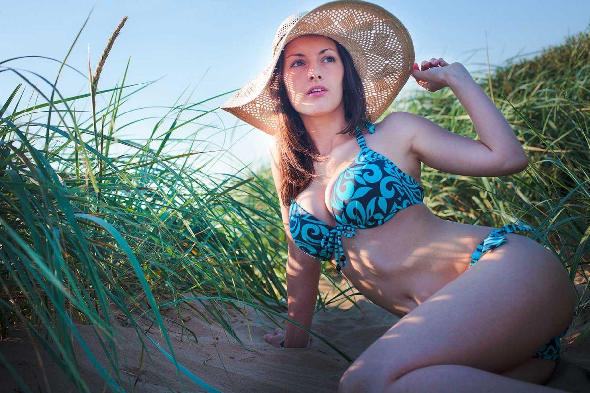 beachwear photography in Somerset