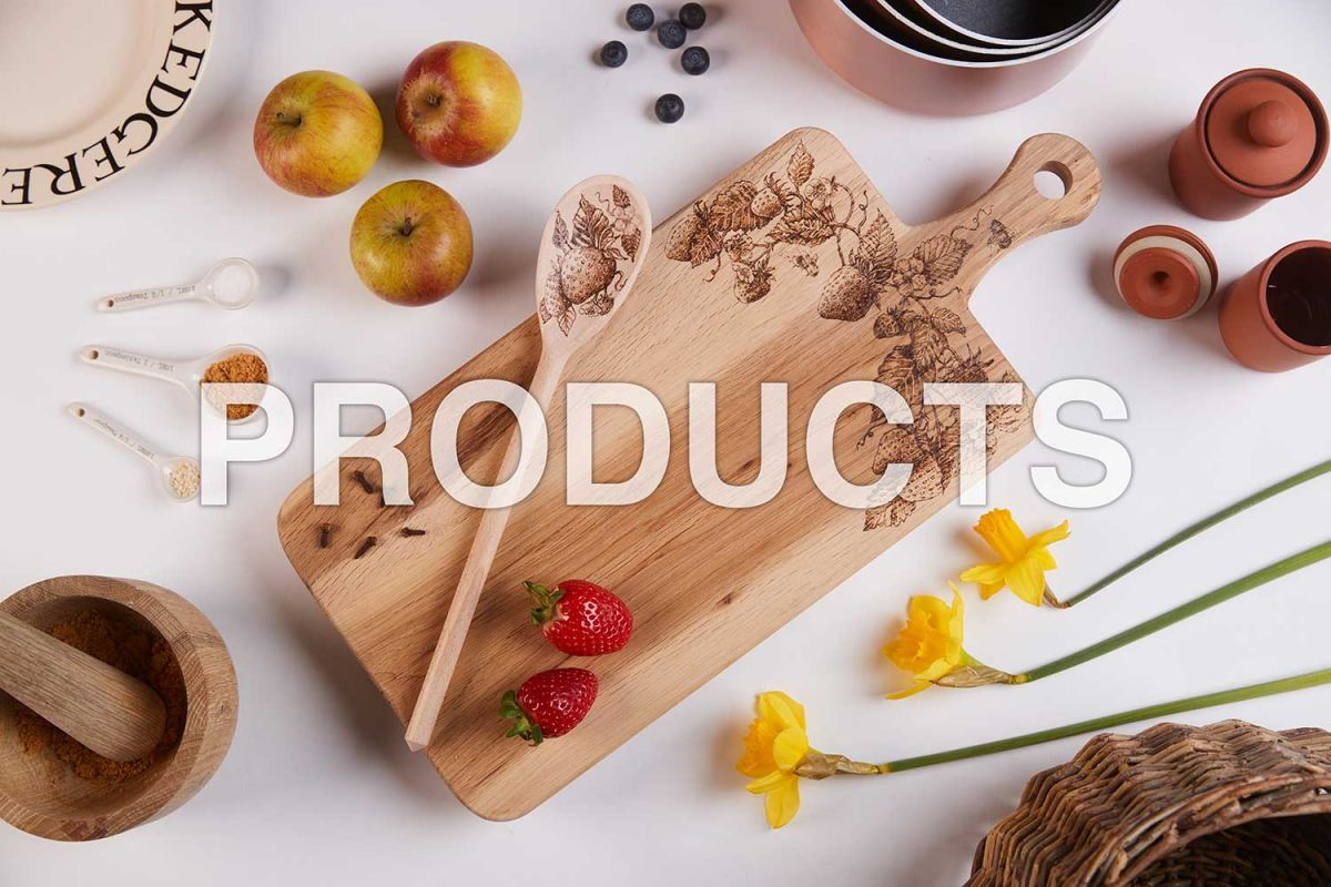 photography of kitchen products