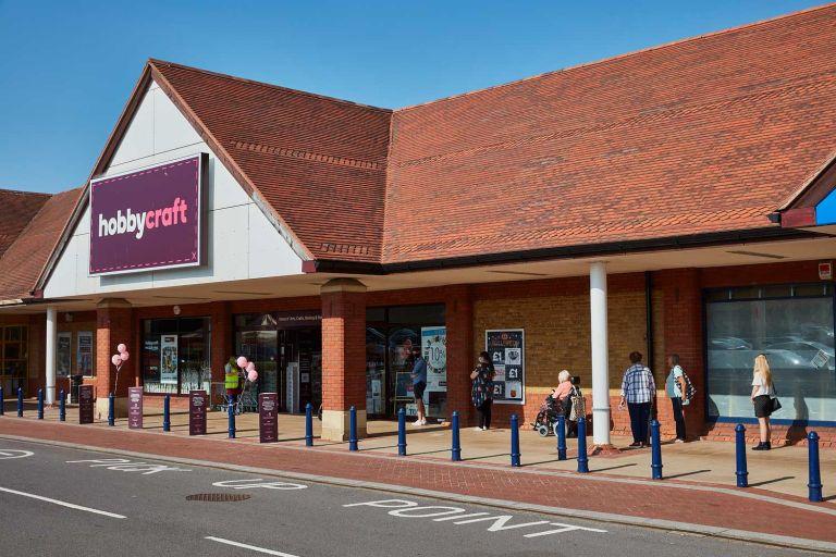 Taunton PR photography for Hobbycraft shop opening 1