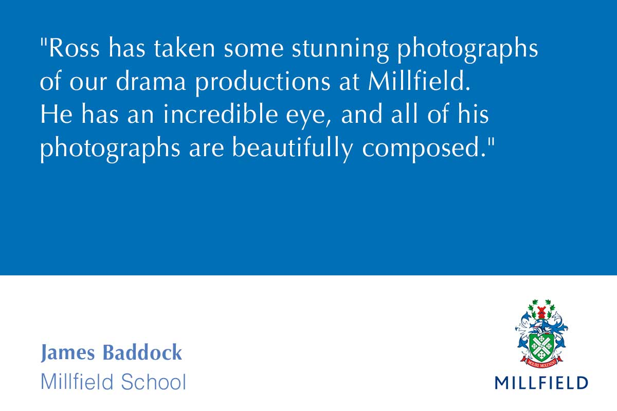 Millfield School photography testimonial