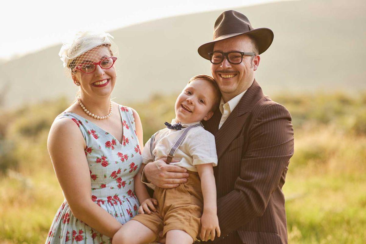 Taunton family photography